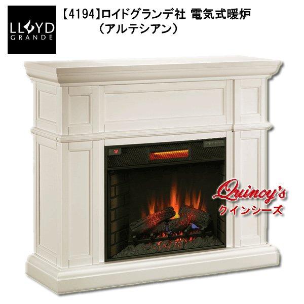 画像1: 【4194】 ロイドグランデ社(28インチ)電気式暖炉(アルテシアン)マントルピース (1)