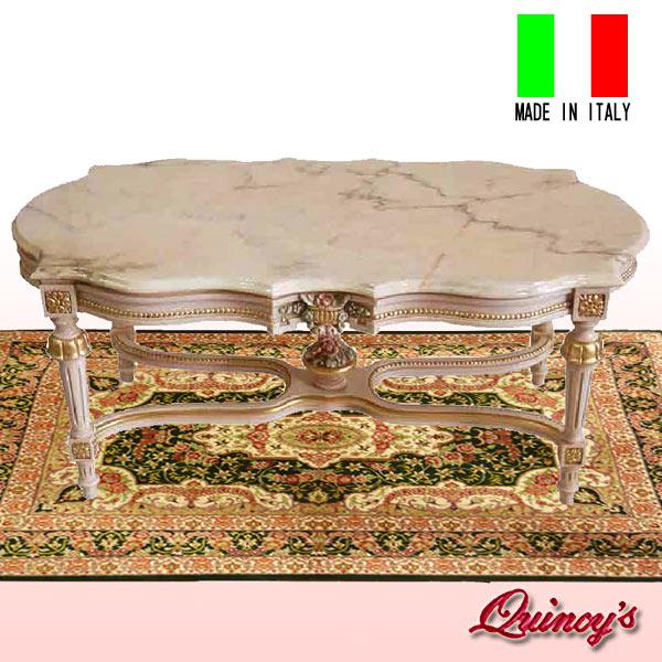 画像1: 【1591】イタリア製 オリッジ社 大理石センターテーブル