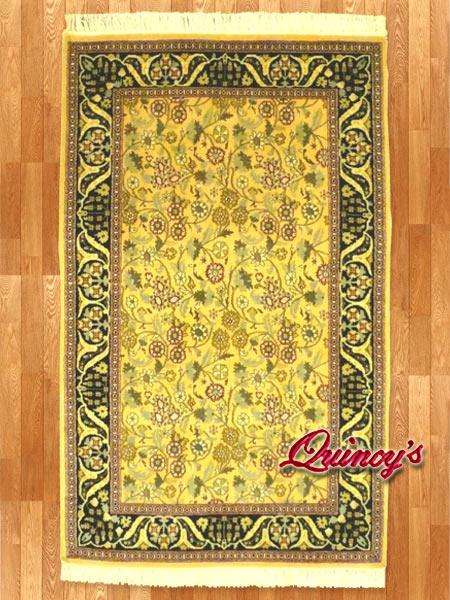 画像1: 【3195】ペルシャ絨毯 カシミア&ウール(オリエンタル)