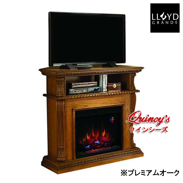 画像2: 【4192】 ロイドグランデ社(23インチ)電気式暖炉(コリンス)コーナー兼用 マントルピース※カラー3色有