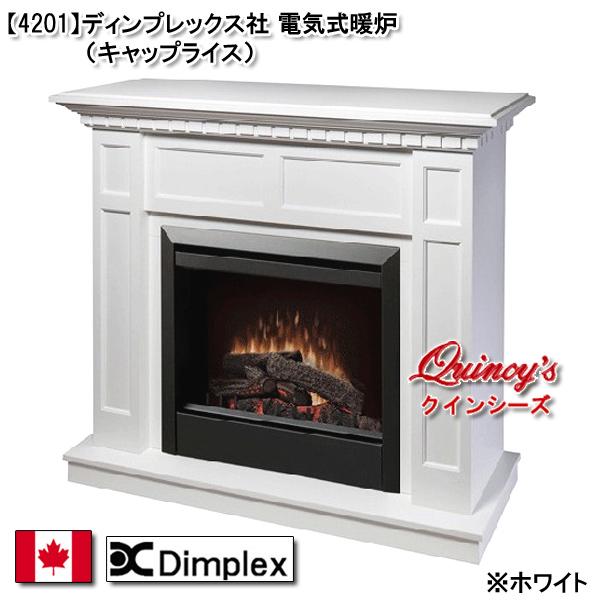 画像1: 【4201】 ディンプレックス社(23インチ)電気式暖炉(キャップライス)マントルピース※カラー2色有