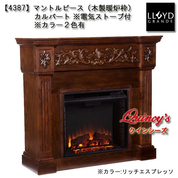 画像2: 【4387】 ロイドグランデ社(23インチ)電気式暖炉(カルバート) マントルピース