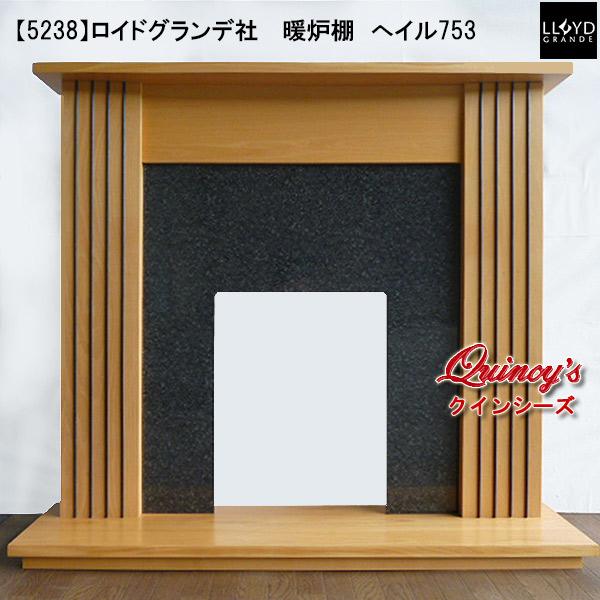 画像1: 【5238】 ロイドグランデ社 暖炉棚(へイル753) マントルピース