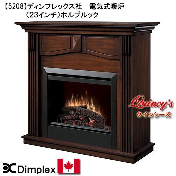 画像1: 【5208】 ディンプレックス社(23インチ)電気式暖炉(ホルボルック)マントルピース